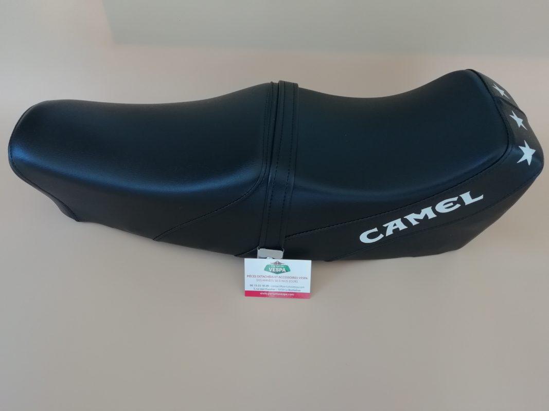 selle sport camel pour vespa px sprint gtr rally vbb ts super ect avec serrure et. Black Bedroom Furniture Sets. Home Design Ideas